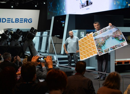 drupa 2016: With the Primefire 106 Heidelberg will be presenting a world premiere for industrial inkjet printing in 70 x 100 format