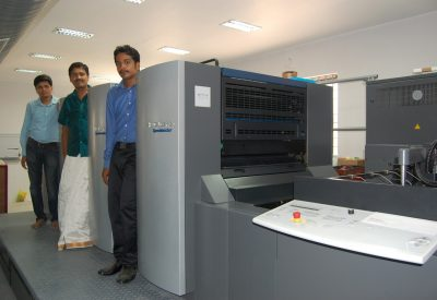 Tiruvannamalai's Subam Printers installs a brand new Heidelberg Speedmaster SM 74 Four colour press
