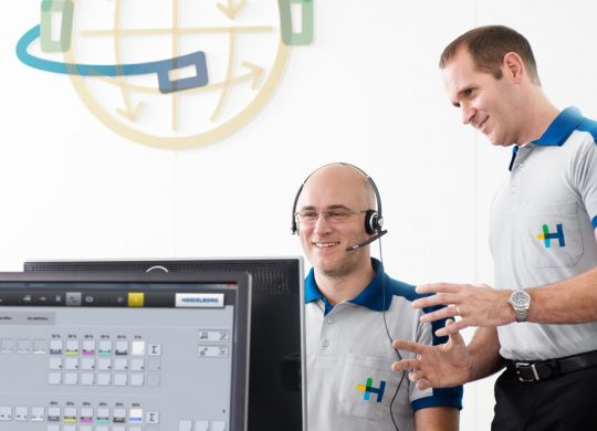Heidelberg a driving force behind digitization – company expands communication infrastructure to meet future digital requirements