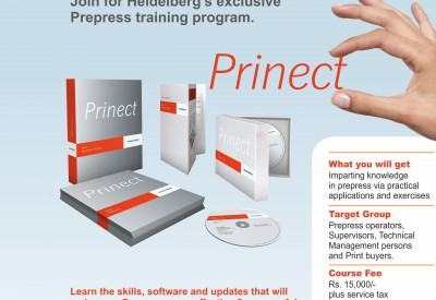 Interested in Prepress Training Program? Fill this form