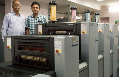 Heidelberg Notches Five Anicolor Presses In India