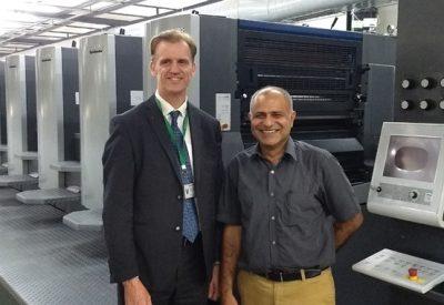 Edelmann Installs India's First 12-unit Speedmaster CX 102