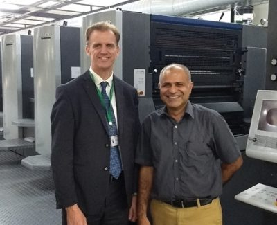 Edelmann Installs India's First 12-unit Speedmaster CX 102