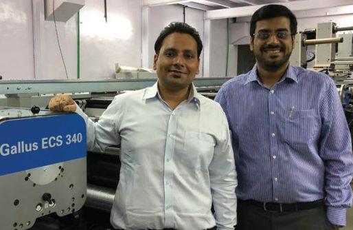 Vasai-based Sonic Labels invests in Gallus ECS 340