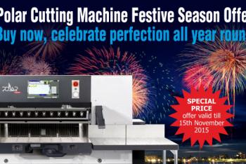Polar Cutting Machine Festive Season Offer