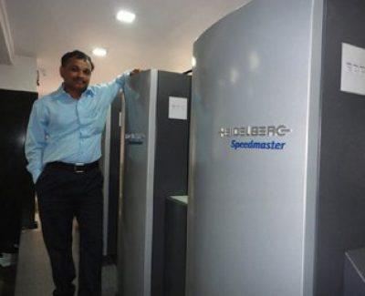 Shree Someshwar Printer's Speedmaster Success