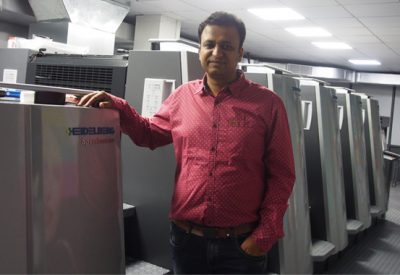 Krishna Creations Ups Efficiency With Heidelberg XL75 Press