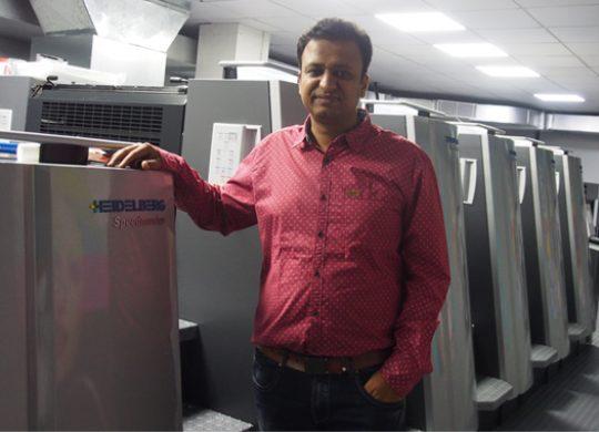Krishna Creations Ups Efficiency With Heidelberg XL75 Press